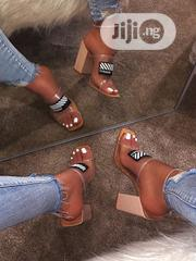 Vogue 77 Block Heels | Shoes for sale in Lagos State, Lagos Island
