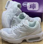 """Nike Air Max 2 Light Sneakers """"Off White/Off White"""" 