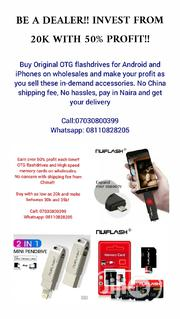 Make 50% Profit Through Selling Of OTG Flashdrives And Memory Cards. | Accessories for Mobile Phones & Tablets for sale in Lagos State, Oshodi-Isolo