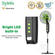 """Syinix 16"""" Rechargeable Standing Fan FSS16R-504R 