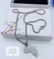 Classic Pure Raw Stainless Steel Neckchain With Pendant | Jewelry for sale in Lagos State, Lagos Island