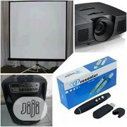 Rent Projector With Complete Accessories | TV & DVD Equipment for sale in Lagos State, Maryland