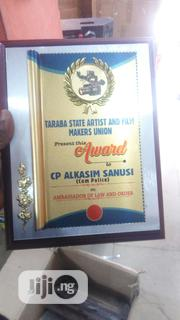 Wooden Plaque Award | Arts & Crafts for sale in Abuja (FCT) State, Wuse II
