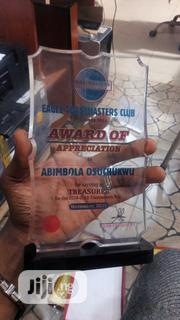 Acrylic Award | Arts & Crafts for sale in Lagos State, Lagos Mainland