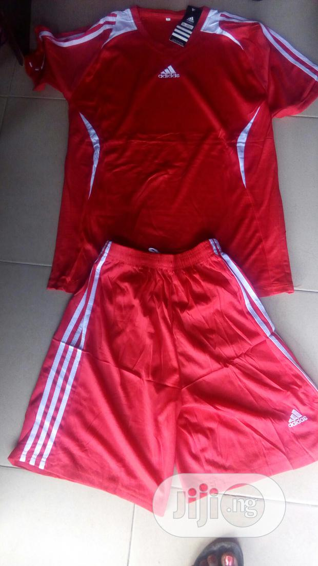 Adidas Set Of Football Jersey