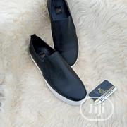 Navy Blue Suede X Black Leather Sneakers. | Shoes for sale in Lagos State, Lagos Mainland