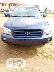 Toyota Highlander 2005 Limited V6 Blue | Cars for sale in Abuja (FCT) State, Gwarinpa
