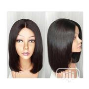 12 Inches Bob Wig Human Hair With Closure Available   Hair Beauty for sale in Lagos State, Ikeja