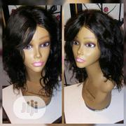 12 Inches Human Hair Wig | Hair Beauty for sale in Lagos State, Ikeja