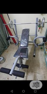 Bench Press With 50kg Weight | Sports Equipment for sale in Lagos State, Surulere