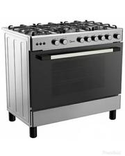Midea 5 Gas Burners Gas Cooker( 90 X 60 ) 36LMG5G028- Silver | Restaurant & Catering Equipment for sale in Abuja (FCT) State, Maitama