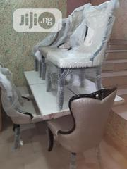 High Quality Marble Dinning Table With 6 Chairs | Furniture for sale in Lagos State, Lagos Mainland