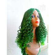 NEW STOCK ALERT!! Cute Green Juliana Braided Wig | Hair Beauty for sale in Lagos State, Lagos Island