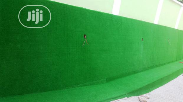 Synthetic Wall Grass For Fence Design