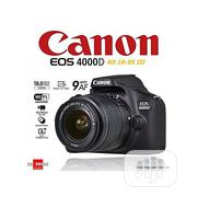 Canon EOS 4000D DSLR Camera With EF-S 18-55 Mm F/3.5-5.6 III Lens | Photo & Video Cameras for sale in Delta State, Warri