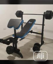 Bench Press With 50kg Weight | Sports Equipment for sale in Abuja (FCT) State, Utako