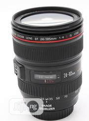 Canon EF 24-105mm F/4 L IS USM Lens | Accessories & Supplies for Electronics for sale in Lagos State, Ikeja