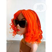 HOT SELLING!! Cute Amelia Orange Braided Wig | Hair Beauty for sale in Lagos State, Lagos Island