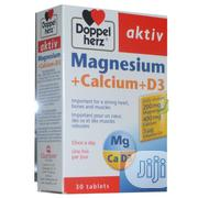 Doppelherz Aktiv Magnesium + Calcium + D3 | Vitamins & Supplements for sale in Abuja (FCT) State, Wuse II