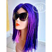 HOT SALES!! Ashley Styled Purple/Pink Braided Wig | Hair Beauty for sale in Lagos State, Lagos Island