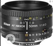 Nikon 50mm F/1.8d Lens | Accessories & Supplies for Electronics for sale in Lagos State, Ikeja