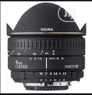 Sigma 15mm Fisheye Lens | Photo & Video Cameras for sale in Lagos State, Ikeja