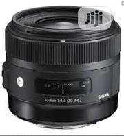 Sigma 30mm 1.4 Prime Lens | Accessories & Supplies for Electronics for sale in Lagos State, Ikeja