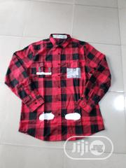 Original Off-White Checkers Classic Shirts | Clothing for sale in Lagos State, Lagos Mainland