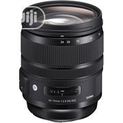 Sigma 24-70mm F/2.8 Canon Lens | Accessories & Supplies for Electronics for sale in Lagos State, Ikeja