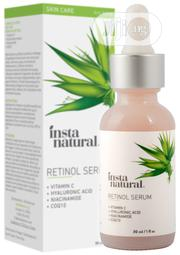 Insta Natural Retinol Anti Wrinkle, Anti Aging Facial Serum - 30ml | Skin Care for sale in Lagos State, Lekki Phase 1