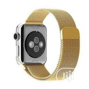 42mm Milanese Loop Band Stainless Strap For Iwatch - Gold | Smart Watches & Trackers for sale in Lagos State, Shomolu