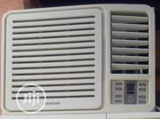 Uk Used 1hp Window Unit Samsung Air Conditioner | Home Appliances for sale in Lagos State, Lagos Island