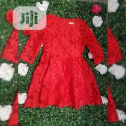 ZHI Red Ladies Lace Blouse | Clothing for sale in Lagos State, Ajah