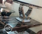 Marble Center Table 2stools | Furniture for sale in Lagos State, Ilupeju