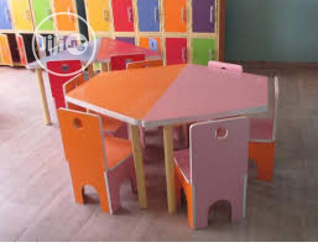 Archive: HDF School Chairs and Table