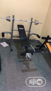 Weight Bench With 50kg   Sports Equipment for sale in Lagos State, Ojodu