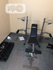 Brand New Weight Bench With 50kg   Sports Equipment for sale in Lagos State, Ikeja