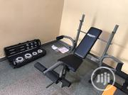 New Weight Bench With 50kg   Sports Equipment for sale in Lagos State, Mushin