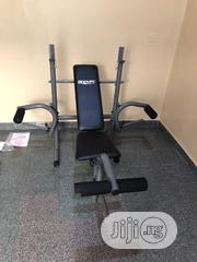 Weight Lifting Bench With 50kg   Sports Equipment for sale in Lagos State, Gbagada