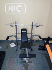 Weight Bench With 50kg   Sports Equipment for sale in Lagos State, Kosofe