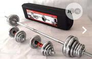 50kg Case Barbell   Sports Equipment for sale in Lagos State, Surulere
