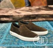 Navy Blue Suede Brown Sneakers. | Shoes for sale in Lagos State, Lagos Mainland