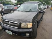 Nissan Pathfinder 2002 SE AWD SUV (3.5L 6cyl 4A) Black | Cars for sale in Lagos State, Amuwo-Odofin