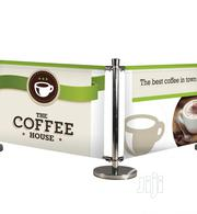 Café Barrier Signs | Manufacturing Services for sale in Lagos State, Mushin