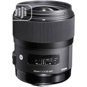 Sigma 35mm F/1.4 DG HSM Art Lens | Accessories & Supplies for Electronics for sale in Lagos State, Ikeja