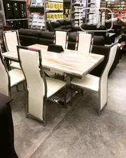 Imported by 6 Marble Dinning Table | Furniture for sale in Lagos State, Ojo