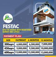 Plots of Land for Sale in 6th/7th Avenue Festac | Land & Plots For Sale for sale in Lagos State, Amuwo-Odofin