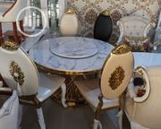 Classic Round Dining Table 6setters. | Furniture for sale in Lagos State, Lekki Phase 1