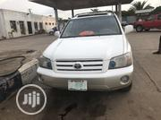 Toyota Highlander 2005 Limited V6 White | Cars for sale in Lagos State, Agege