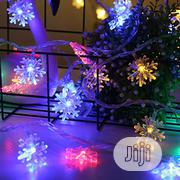 LED Garland Holiday Snowflakes String Fairy Lights | Home Accessories for sale in Ondo State, Akure